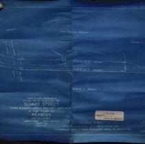 Image of Plan of Summit Street - 1929