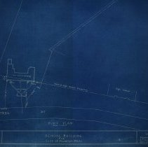 Image of Plot land for Fransworth School - 1926