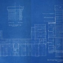 Image of Farnsworth School - second floor framing plan - 1926