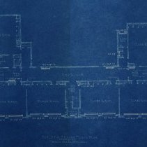 Image of Farnsworth School heating and vent blueprints - 1926