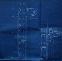Image of Partial of Peabody High School Blueprints, 1970