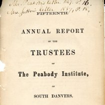 Image of 1866 Annual report of the Library Trustees