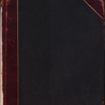 Image of Front cover of Sutton Room log book 1941-1952
