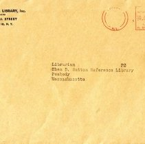 Image of Philosophical Library, Inc.envelope