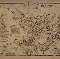 Image of 1872 Map of Peabody