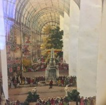 Image of Lane's telescopic view of the Great Exhibition, 1851
