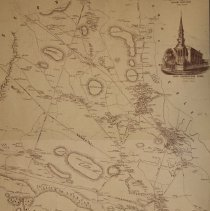 Image of 1852 Map of Danvers