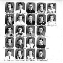 Image of Center School class photo - 1935-1936