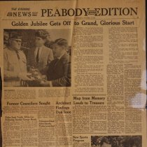 Image of Salem Evening News Peabody Edition - Oct. 3, 1966