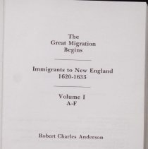 "Image of Title page for ""The Great Migration Begins"""