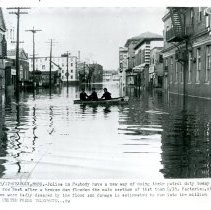 Image of Downtown Peabody flooded - 1954