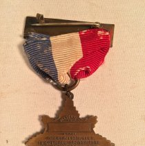 Image of Back of WWI medal
