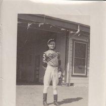 Image of Eddie Tucker at Tanforan Race Track