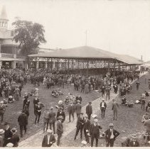 Image of Churchill Downs Paddock, 1924