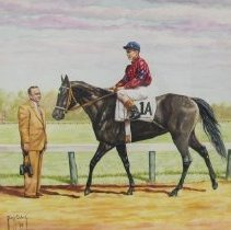 "Image of Painting of Horace A. ""Jimmy""  Jones"