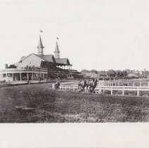 Image of First Turn of the 1905 Kentucky Derby