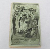 Image of 1883 Louisville Jockey Club Condition Book