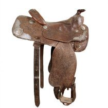 Image of Bill Shoemaker Collection - Saddle