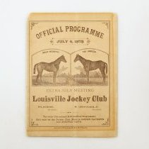 Image of Churchill Downs Collection - Program