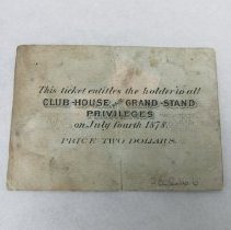 Image of Back of ticket
