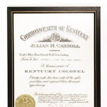 "Image of H.A. ""Jimmy"" Jones Collection - Certificate, Membership"