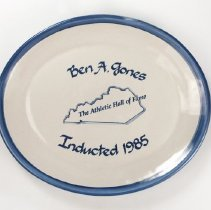 "Image of H.A. ""Jimmy"" Jones Collection - Plate, Commemorative"
