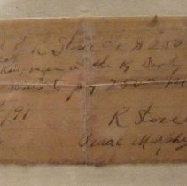 Image of Churchill Downs Collection - Receipt