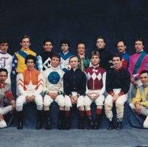 Image of 1989 Derby Jockey Group Photo