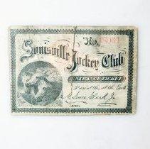 Image of Ten Broeck/Mollie McCarthy Match Race Ticket