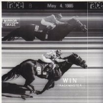 Image of Spend A Buck photo finish image, 1985 Derby