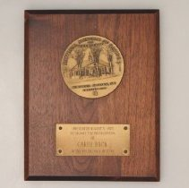 Image of Carry Back Collection - Plaque, Award