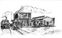 Image of Ohio River RR station, Huntington, W.Va.