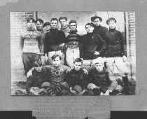 Image of W. Huntington Independent football team