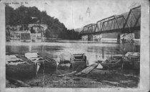 Image of Ferry landing at Gauley Bridge,W.Va.