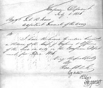 Image of Letter of transmittal enclosing report of the U.S. Engineering Dept.