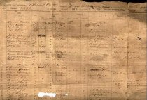 Image of CD containing scanned image of muster roll of Capt. Barnett Carter's Company D, Witcher's Battalion of Mounted Rifles, CSA.  Contains 79 privates, and 13 company officers, recruited from the ounties of Cabell, Wayne and Logan of present-day West Virginia. 