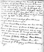 Image of H. Peyton pension application