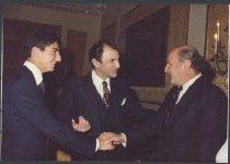 Image of Marvin Stone, Ardeshir Zahedi, Reza Zahedi(?)