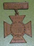 Image of United Daughters of the Confederacy Cross of Honor.