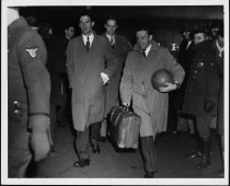 Image of Coaches returning from championship,1947