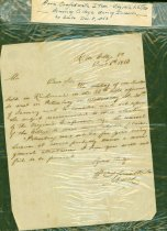 Image of Letter from William A. Smith, Pres. of Randolph-Macon College to an unnamed addressee, discussing moving the college because of the Civil War, 8 Dec, 1863.  - 2001.0703