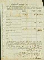 Image of Tax assessment form for agricultural crops