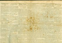 "Image of Front page of the Richmond ""Daily Enquirer"" of Aug. 25, 1863 featuring an article on Robert E. Lee.  - 2006.0703"