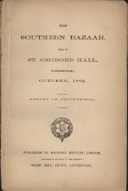 "Image of ""The Southern Bazaar held in St. George's Hall, Liverpool, October, 1864"" Report of proceedings. - 2006.0703"