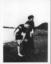 Image of FDR & Eleanor at Campo, 1913