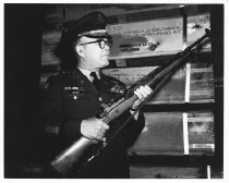Image of Lt. Col. James Bryant with M-14