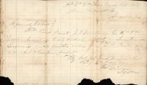 Image of Special Order No.?, issued by Col. Dud W. Jones, commanding 9th Texas Cavalry, CSA,  Aug. 1, 1864.  - 2001.0703