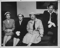 Image of Hunt. Women's Club Travel Study Officers, 1958