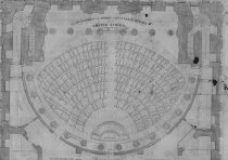 Image of Seating chart and plan of U.S. House of Representatives, 1834-35 - 2014/09.0818