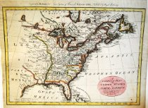 Image of A Correct Map of the United States of North America, 1784-85, hand colored - 2015/07.0826